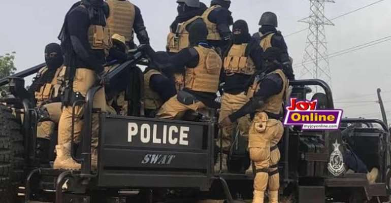 Armed men stormed La Bawaleshie[a community in the constituency] on voting day
