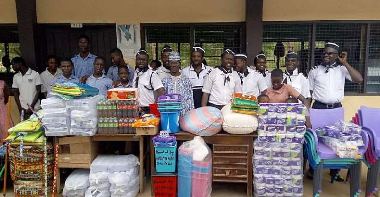 Cape Coast: School For The Deaf Receives Help From Ahmadiyya Youth