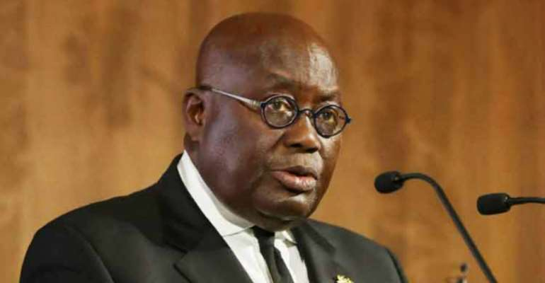 Nana Akufo Addo, the Ghanaian leader