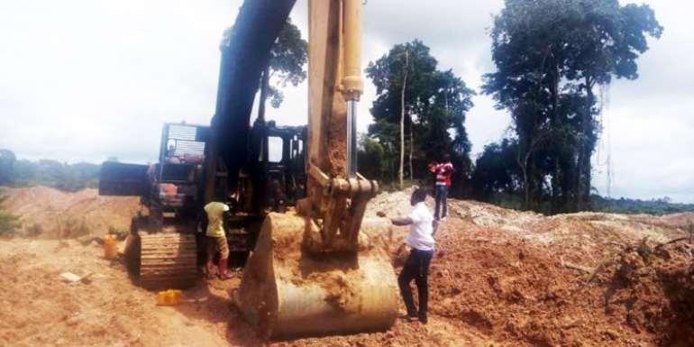 Missing Excavators: I Didn't Buy Any Seized Excavator — Abura Asebu Kwamankese MP Denies