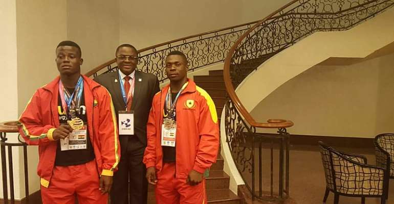 Three Ghanaian Weightlifters In Tashkent For Tokyo 2020 Olympic Qualifier