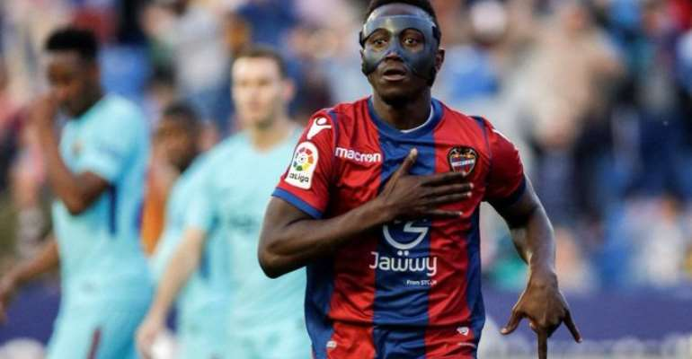 Levante Ready To Sanction Emmanuel Boateng's Sale To Chinese Super League Dalian Yifang For €11m