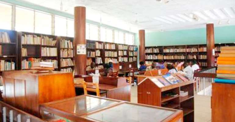 Make Libraries More Visible To Promote Reading - Prof. Alemna