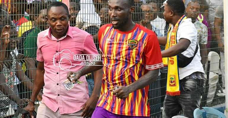 Hearts of Oak midfielder Emmanuel Nettey