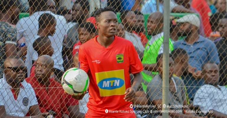 Asante Kotoko full-back Christopher Nettey