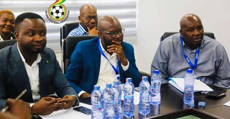 PHOTOS: GFA Holds Successful Meeting With Ghana Premier League Clubs