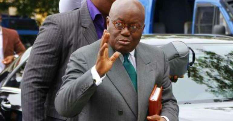 The Ghanaian leader, Nana Akufo Addo