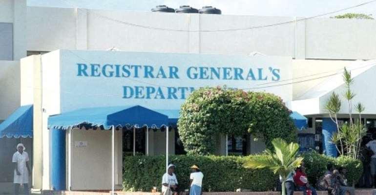 Filing tax returns: Registrar General cracks whip from today