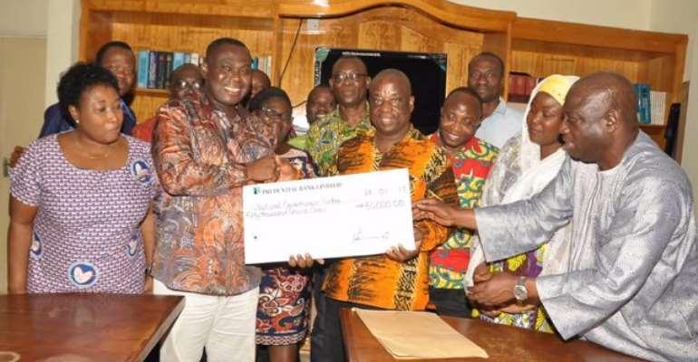 GOIL donates GH¢50,000 to K'bu cardio centre