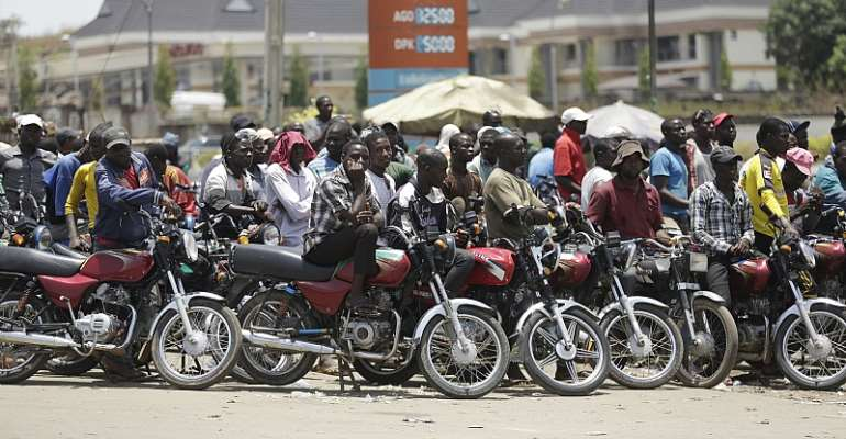Lagos State Bans 'Okada' Today As Riders Poised For War