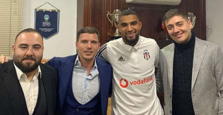 Kevin Prince Boateng Delighted With Beşiktaş Loan Move