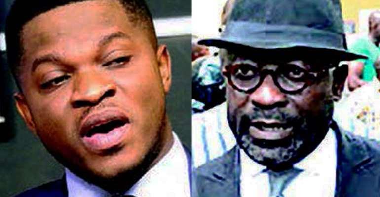 Sammy Gyamfi and Nana Asante Bediatuo