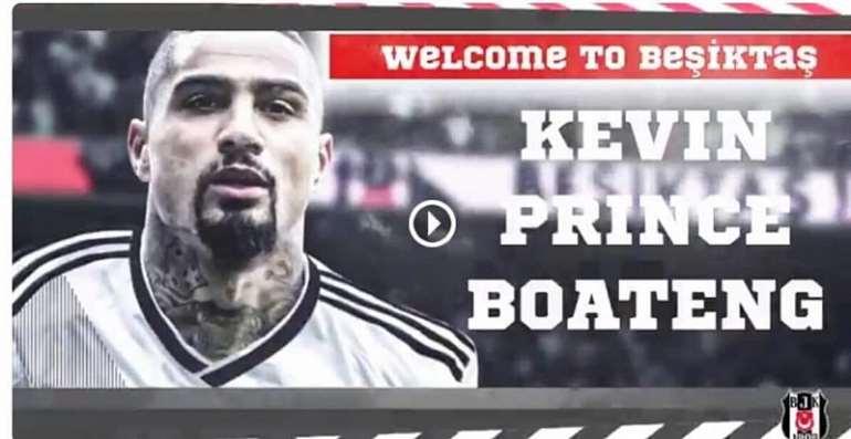 Done Deal: KP Boateng Joins Besiktas On Loan