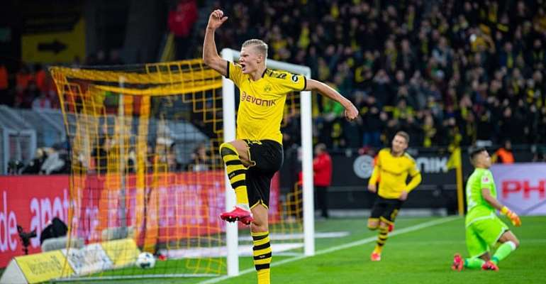 Bundesliga: Bayern Two Clear At The Top, Dortmund's Haaland Scores Again