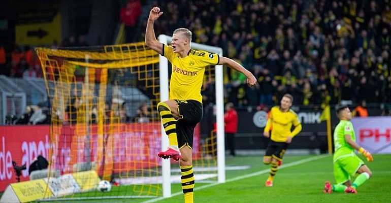 Bundesliga: Bayern Two Clear At The Top, Dortmund's Haaland Scores Again