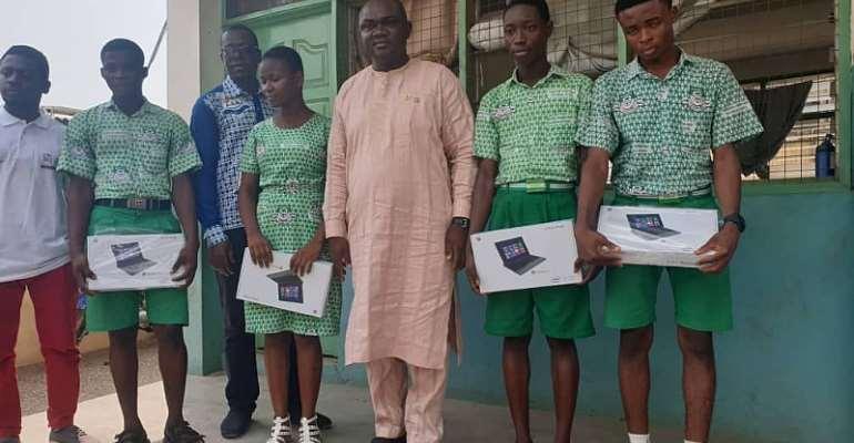 Ablekuma Central MP Donates To Kaneshie Senior High