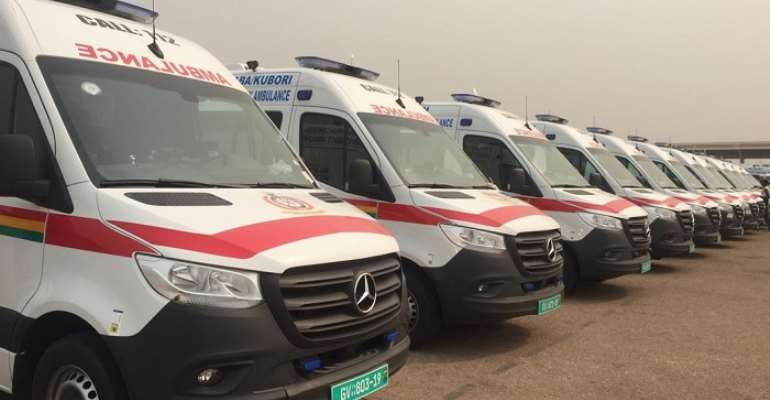 When Ambulances Turn To Scarecrow For The NDC