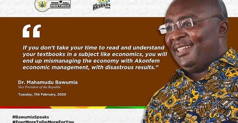 Dr. Bawumia And His Utterances! Economics -Vs- Science