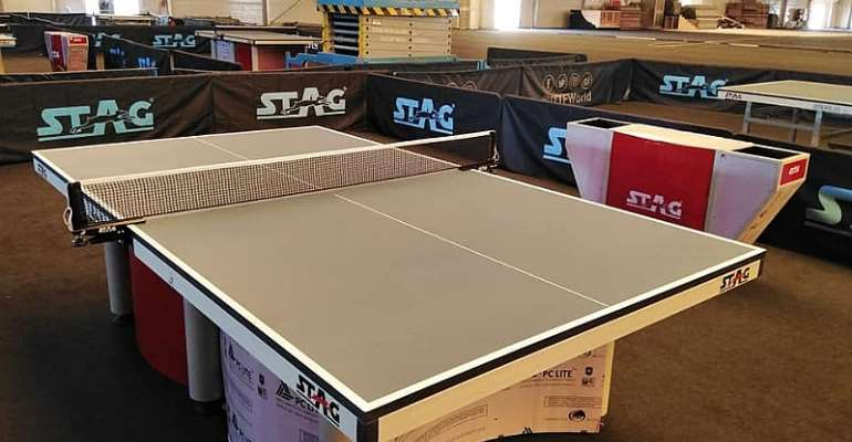 New Accra Table Tennis Center At Fantasy Dome To Host Chairman's Cup 2020 On Saturday