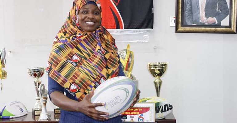Rafatu Inusah appointed onto Women's Advisory Committee of Rugby Africa
