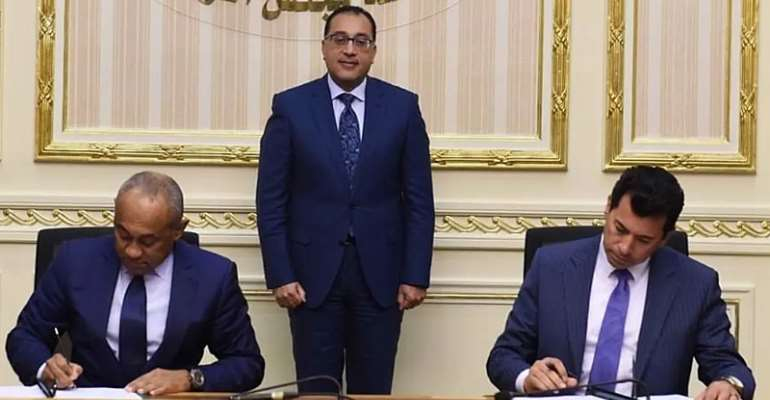 CAF Signs Agreement With Egyptian Government
