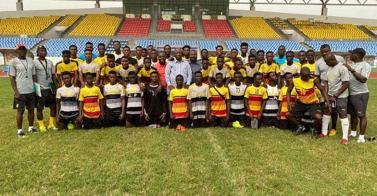 U-17 AFCON: Black Starlets Management Committee Visit Team's Camp Ahead Of Qualifiers