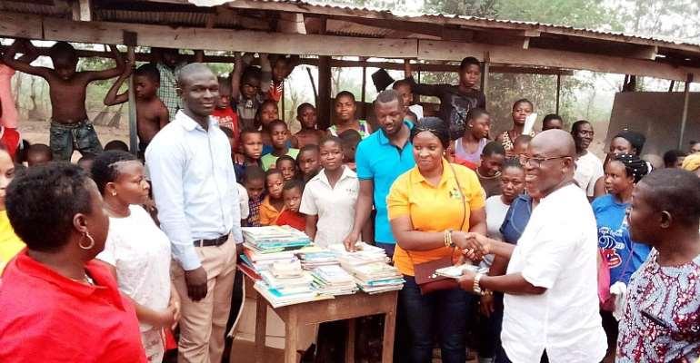 Ghana Diaspora Women embarks on donations towards girl child education in Ghana