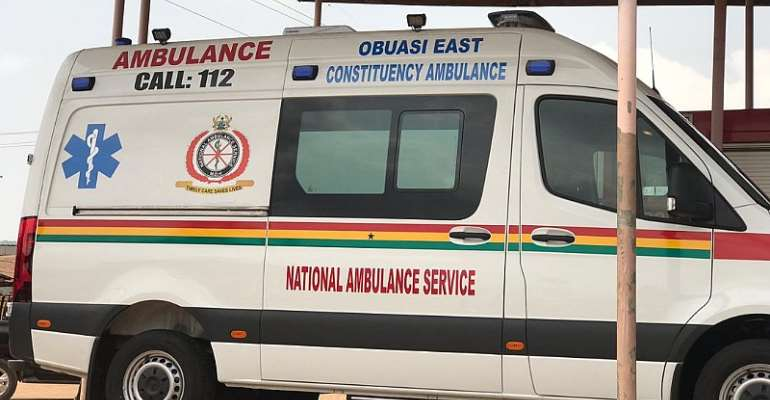 Obuasi East District Takes Delivery Of National Ambulance