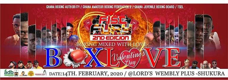 Amateur Boxers Get Set To Rumble On Valentines Day Fist Of Fury At The Lord's Wembley