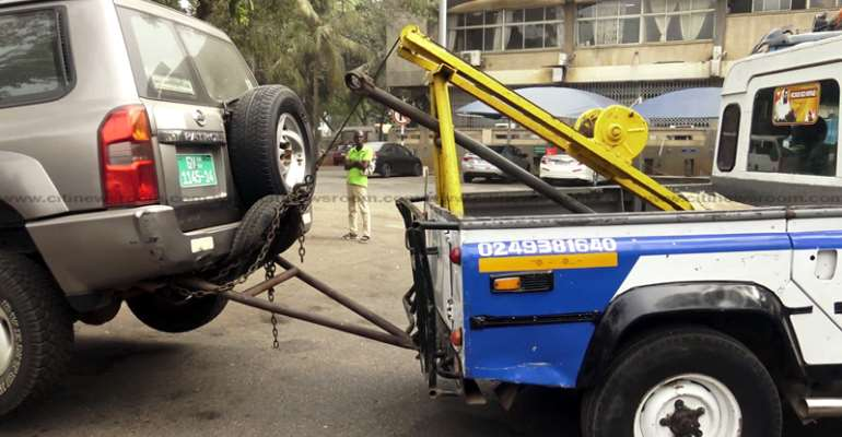 Road Contractor Seize Highway Authority Cars For Debt