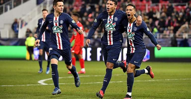 No Neymar, Mbappe as PSG held to 4-4 draw at Amiens