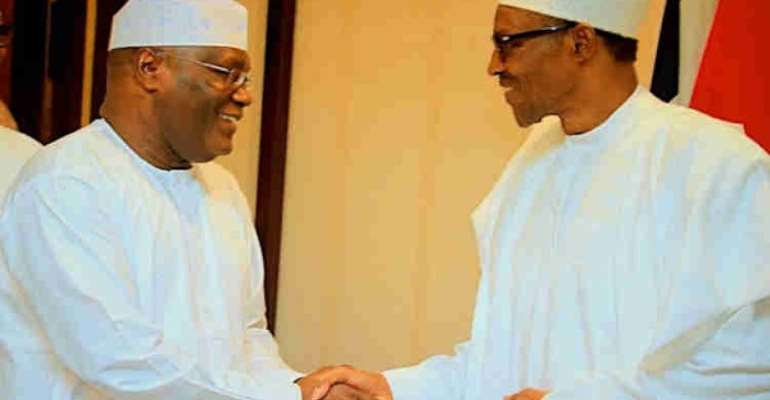 President Muhammadu Buhari and Alhaji Atiku Abubakar