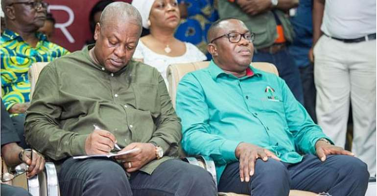 The NDC Is Completely Shaken And Stirred By The NPP