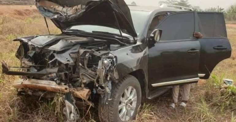 Muntaka, Ahmed Ibrahim Involved In Car Crash Near Konongo