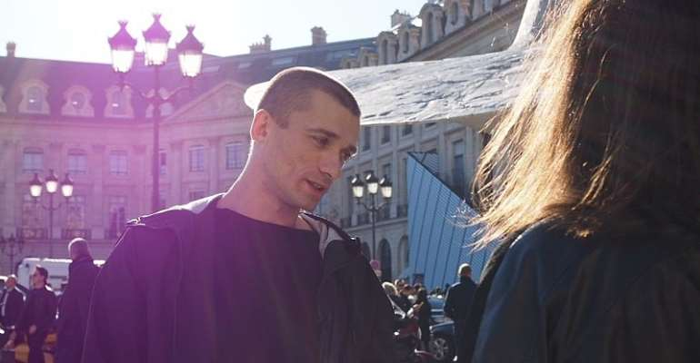 Russian performance artist Piotr Pavlenski. Anya Stroganova / RFI