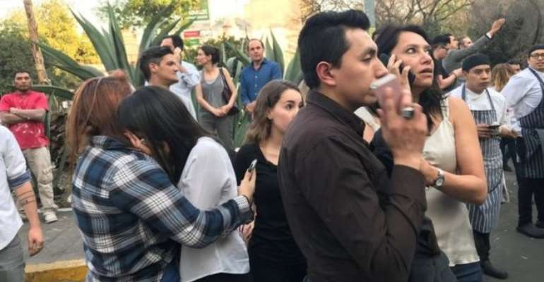 Strong Tremor Shake Up Mexico's Oaxaca State