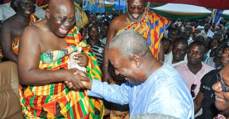 "If Akufo-Addo is really ""corrupt"", Mahama isn't a saint either, let's try GFP"