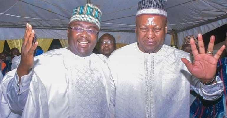 Vice-President Dr. Mahamudu Bawumia and ex-President John Mahama