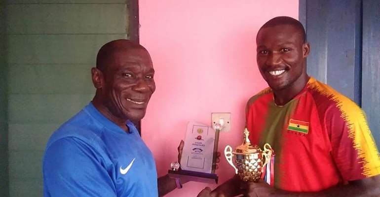 Commey Dedicates Chairman's Cup Victory to His Family, Friends and Fans