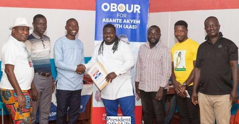 NPP Primaries: Obour Files Nomination To Contest Asante Akyem South Seat