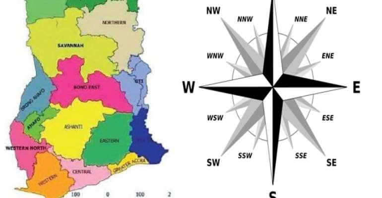 Wrong Naming of Ghana's Regions