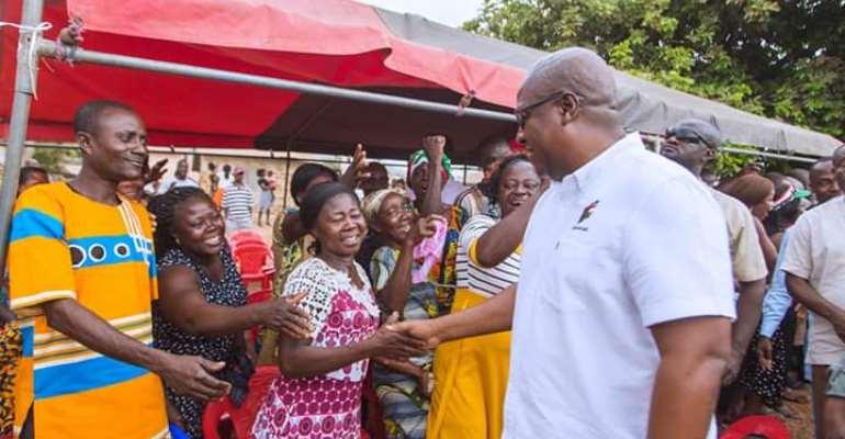 Asempaneye Chief Prays For Mahama's Return