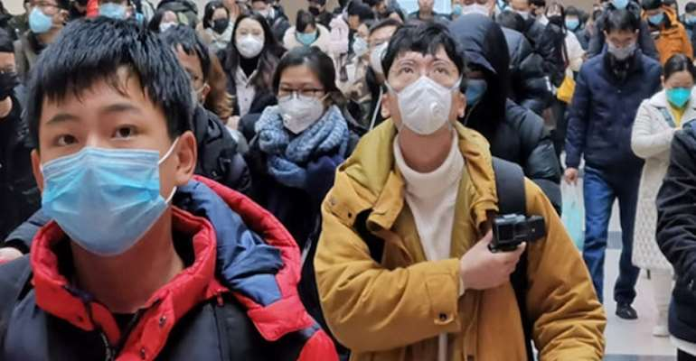 Protection against the aggressive coronavirus in China, photo credit: media China