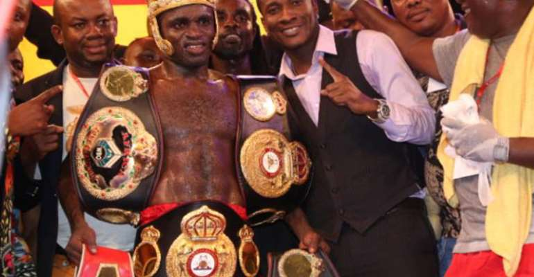 Asamoah Gyan's Baby Jet Promotions terminates contract with top boxer Emmanuel Tagoe