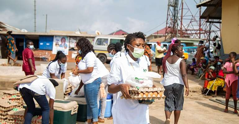 Akro-Farms shares Love on Valentine's Day with 15,000 Eggs and 500 Chicken