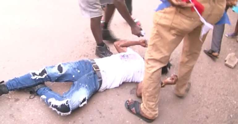 NPP Primaries: Bloody Clash At Asante Mampong Over Filing Of Forms