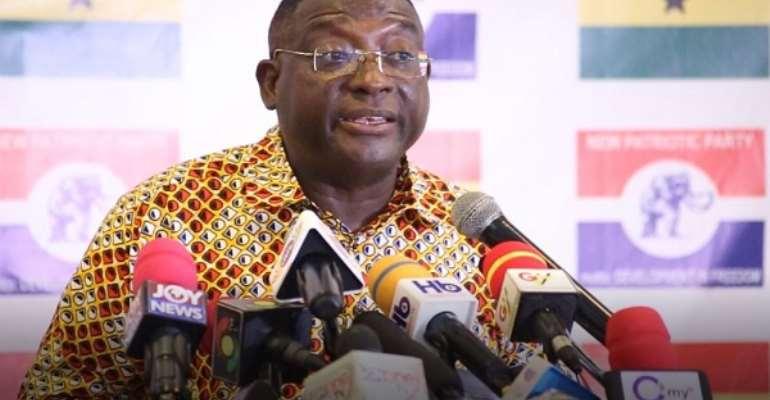 NPP Director of Communications Yaw Buaben Asamoa
