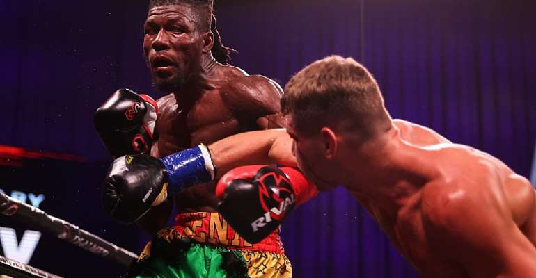 Sena Agbeko loses via unanimous decision to Vladimir Shishkin