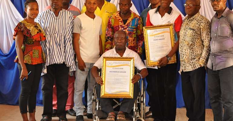 SWAG/Club 50 Honors Two Ex-National Sportsmen