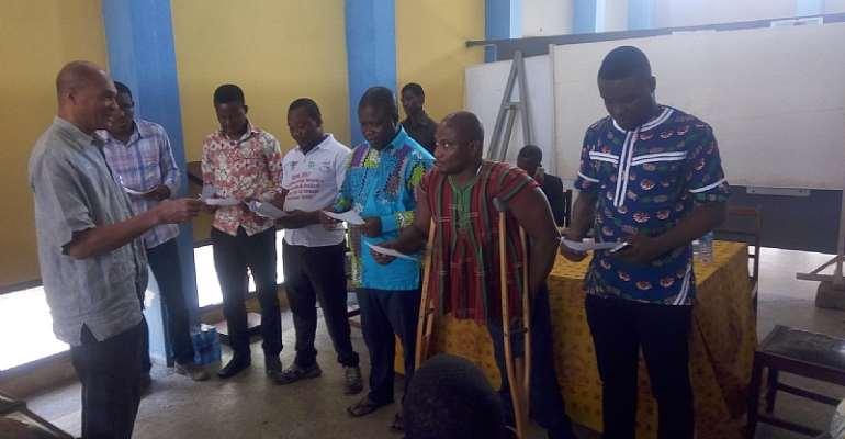 Ghana Wheel Chair Basketball Federation Inaugurates Volta Regional Branch